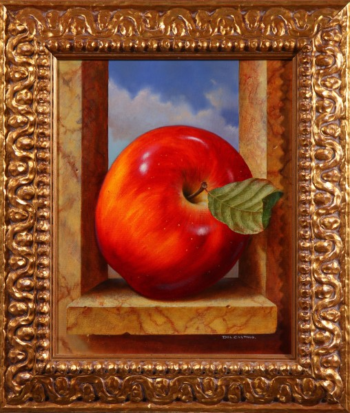 Manzana en la Ventana