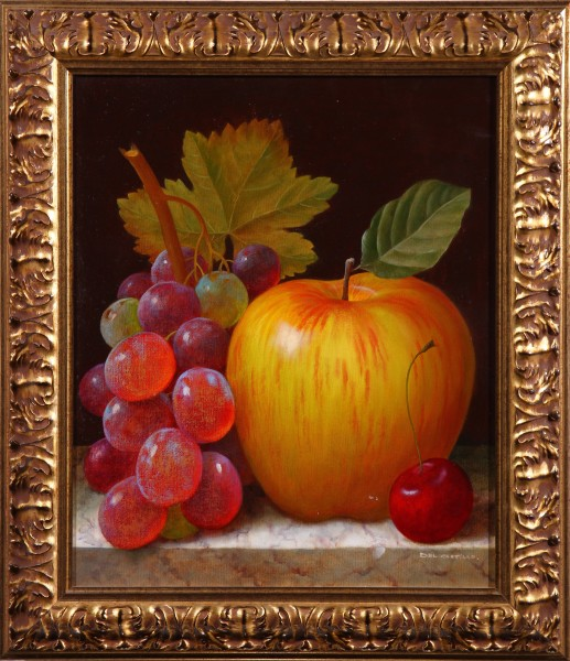 Manzana y Uvas con Cereza