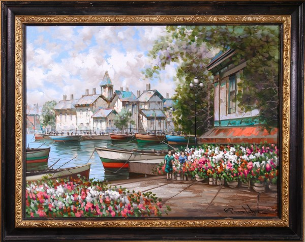 Flower Market Barge