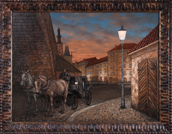 Praha - Evening Carriage