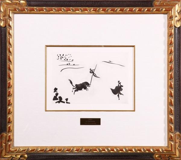 """Salto con la garrocha"" From La Tauromaquia o Arte de Torear"