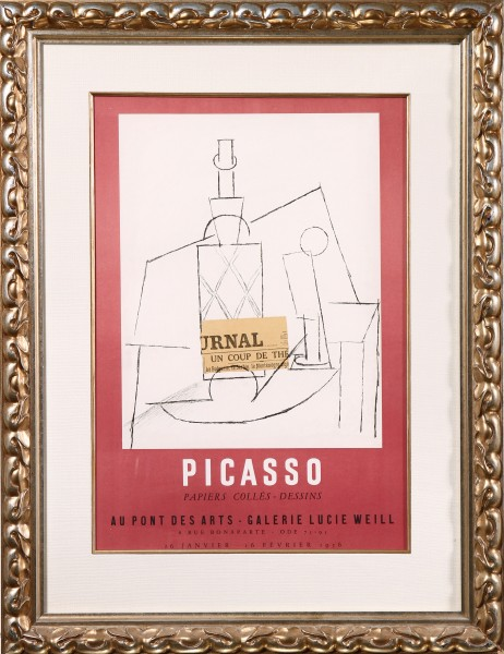 Picasso Papiers Colles - Dessins (Picasso Collages - Drawings)