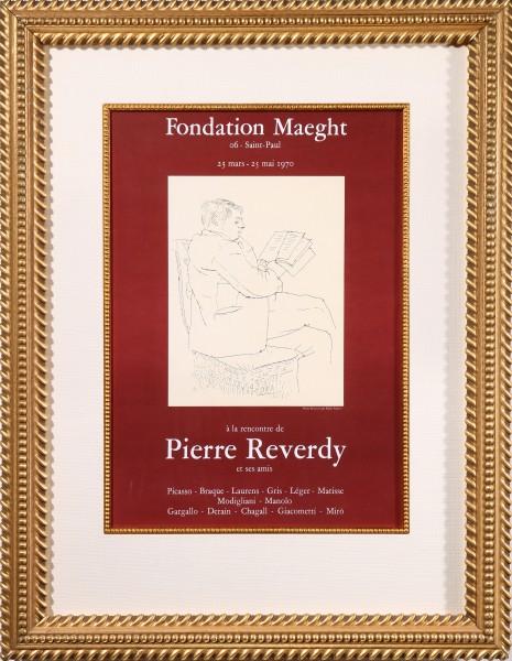 A la Rencontre de Pierre Reverdy et Ses Amis (The Meeting of Pierre Reverdy and His Friends)