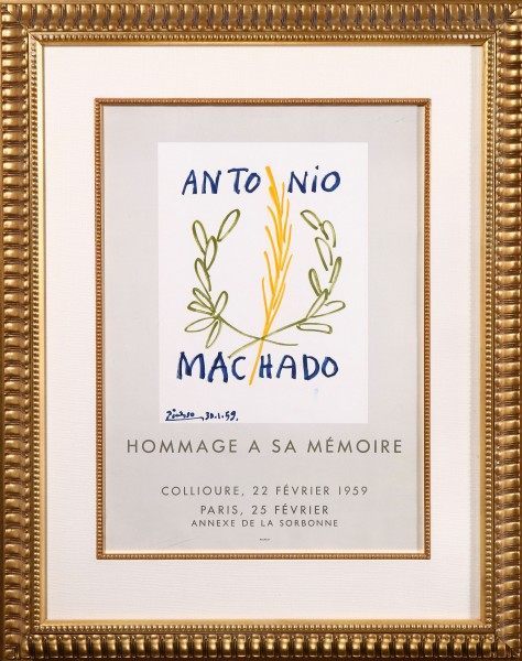 Antonio Machado Hommage a Sa Mémoire (Antonio Machado In Honor of His Memory)