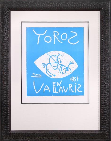 Toros en Vallauris 1957 (Bulls in Vallauris 1957)