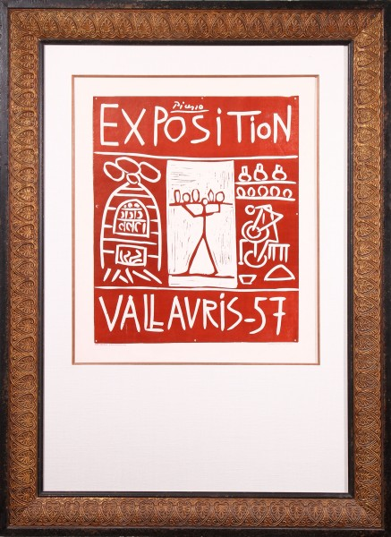 Exposition Vallauris-57 (Exhibition Vallauris 1957)