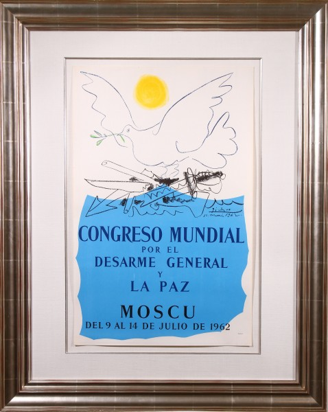 Congres Mondial pour le Désarmement Général et la Paix Moscou 1962 (World Congress for General Disarmament and Peace)
