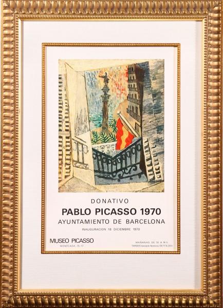 Donativo Pablo Picasso 1970 Ayuntamiento de Barcelona Museo Picasso