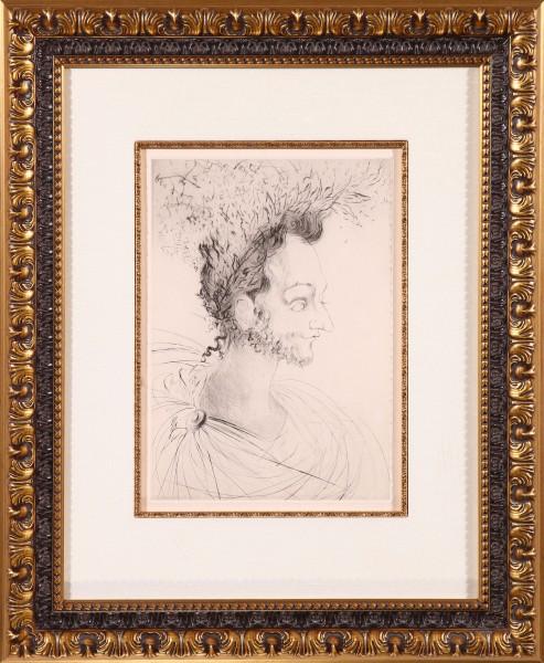 """Les Amours de Cassandre 1968 """"Portrait de Rosad"""""""