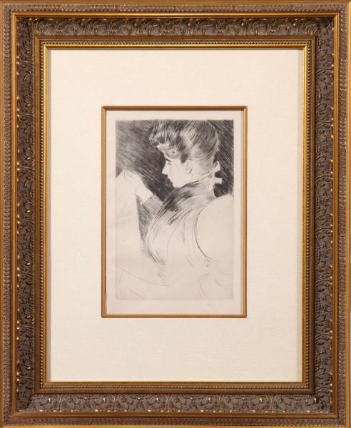 Jeune Fille Cousant - Portrait of Mme. Helleu