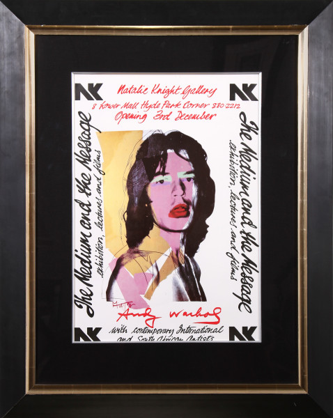 Mick Jagger - Exhibition