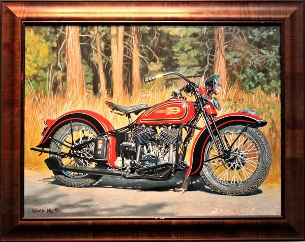 Harley Davidson 1953