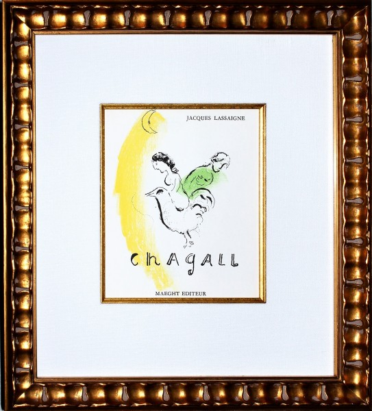 Chagall - Rooster with Crescent 45504