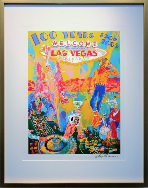 "Serigraph ""Celebrating 100 Years of Neon"" by LeRoy Neimen"