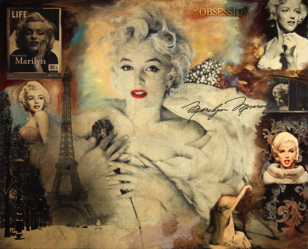 DeVon Marilyn Collage